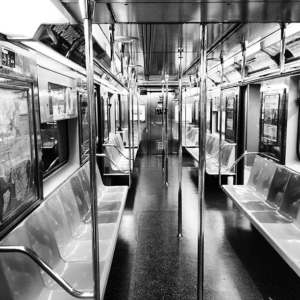 The Silver 7 #photooftheday #iphone4s #photography #ny #instanyc #nyc #manhattan #7train #subway