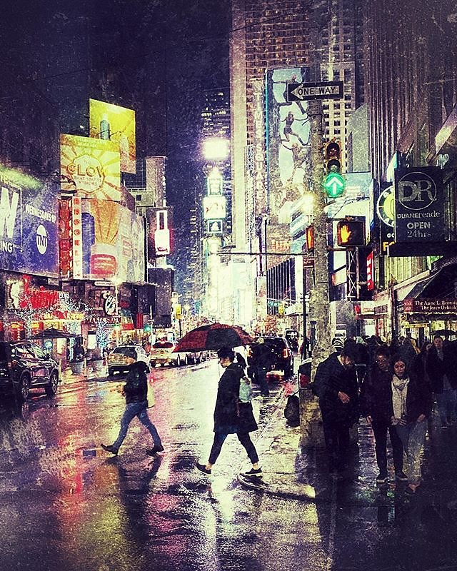 Rainy Nights in New York City