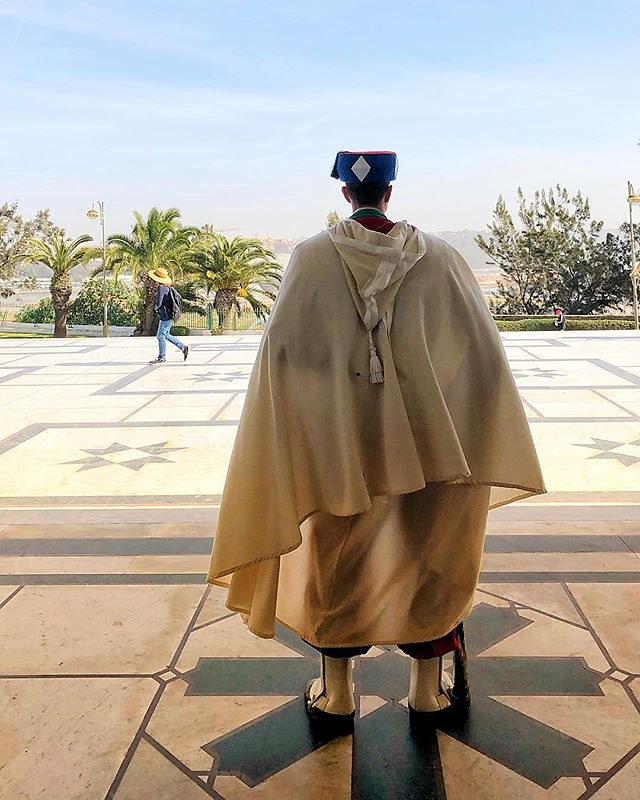 Standing guard in Morocco